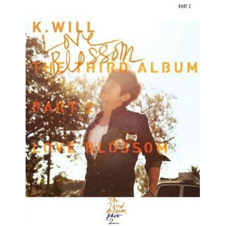 K Will   Love Blossom  Cd