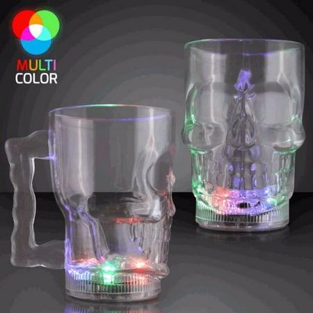 Led Drinkware (LED Skull Mug 20 Ounce)