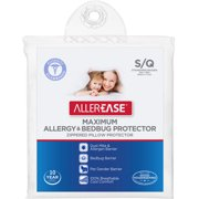 AllerEase Maximum Bed Bug Protection Zippered Pillow Protector, 1 Each
