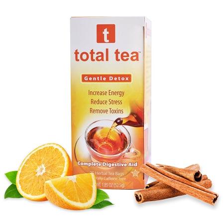 Total Tea doux Detox Colon Cleanse thé