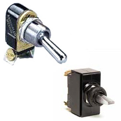 Cole Hersee M-584-BP SPST Toggle Switch