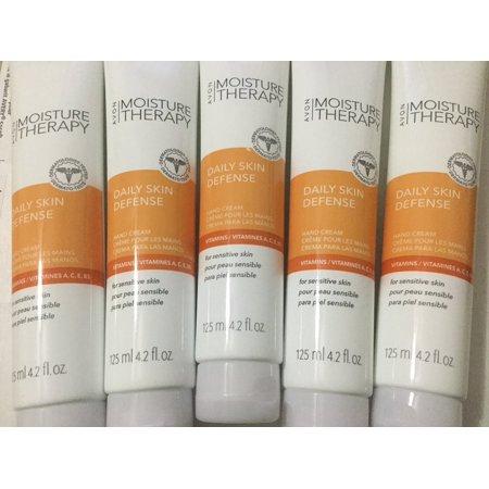 Avon Moisture Therapy Daily Skin Defense Hand Cream Lot of 5 ()