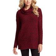 Jessica Simpson Ladies Cowl Neck Long Sleeves Drop Sweater