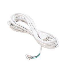 WAC Lighting  HCORD  Track Lighting  Power Cords  Indoor Lighting  Power Feeds  ;White