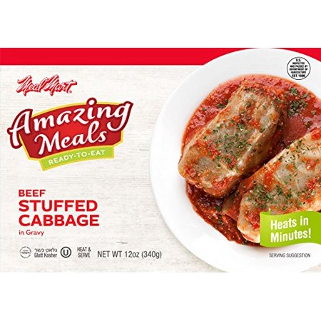 ('Amazing Meals' Glatt Kosher Beef Stuffed Cabbage in Gravy)