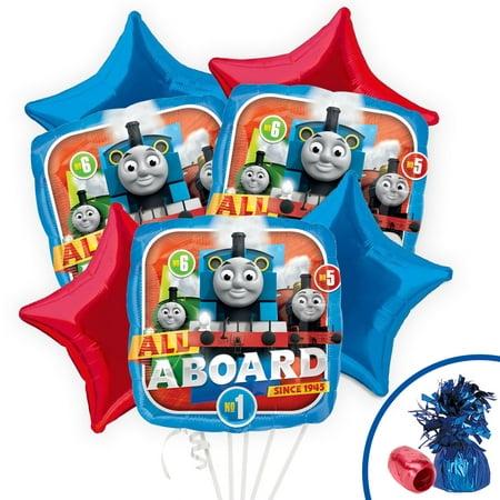 Thomas Party Balloon Kit](Thomas Balloons)