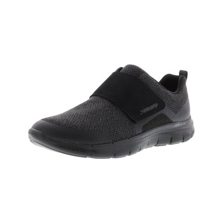 Skechers Women's Flex Appeal 2.0 - Step Forward Black Ankle-High Fabric Training Shoes 9.5M ()