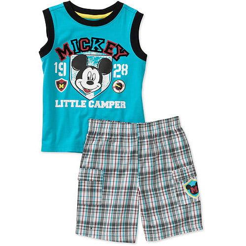 Disney Baby Boys' 2 Piece Mickey Charact