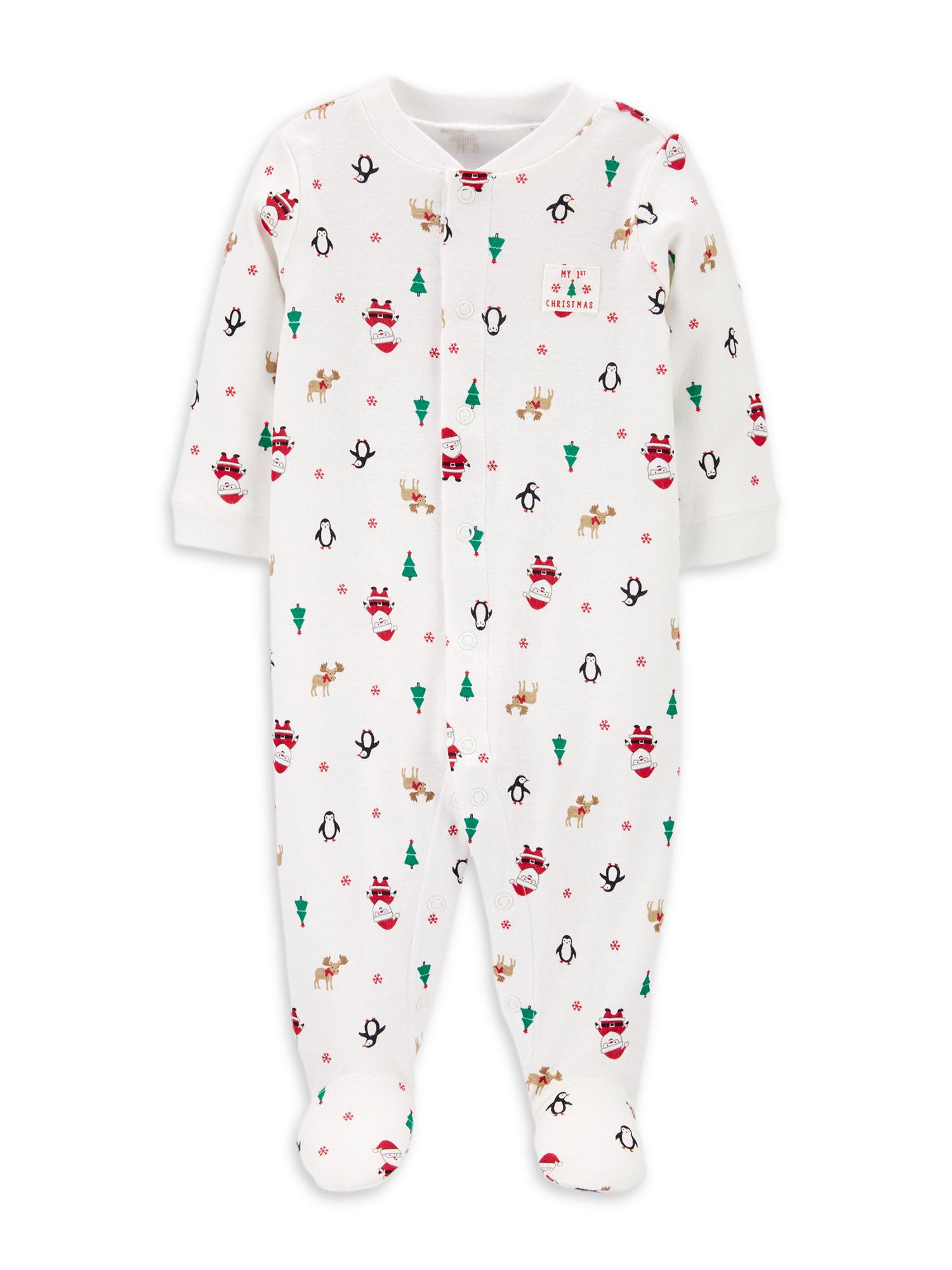 Child Of Mine by Carter's Santa Unisex Sleep N Play Pajama
