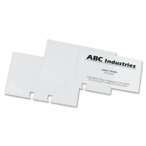 rolodex business card sleeve refill - Business Card Sleeves