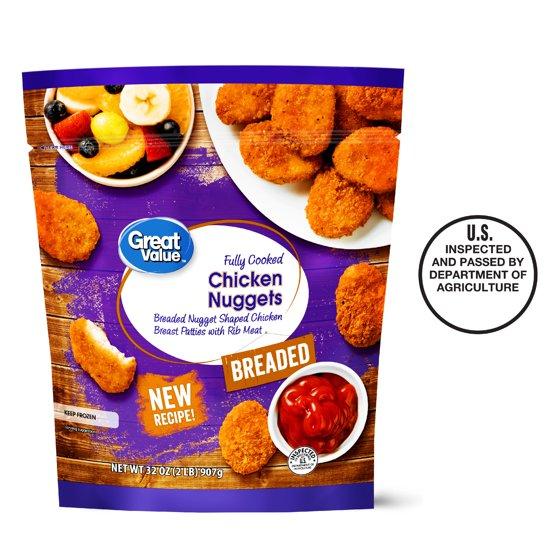 Great Value Chicken Nuggets 32 Oz Walmart