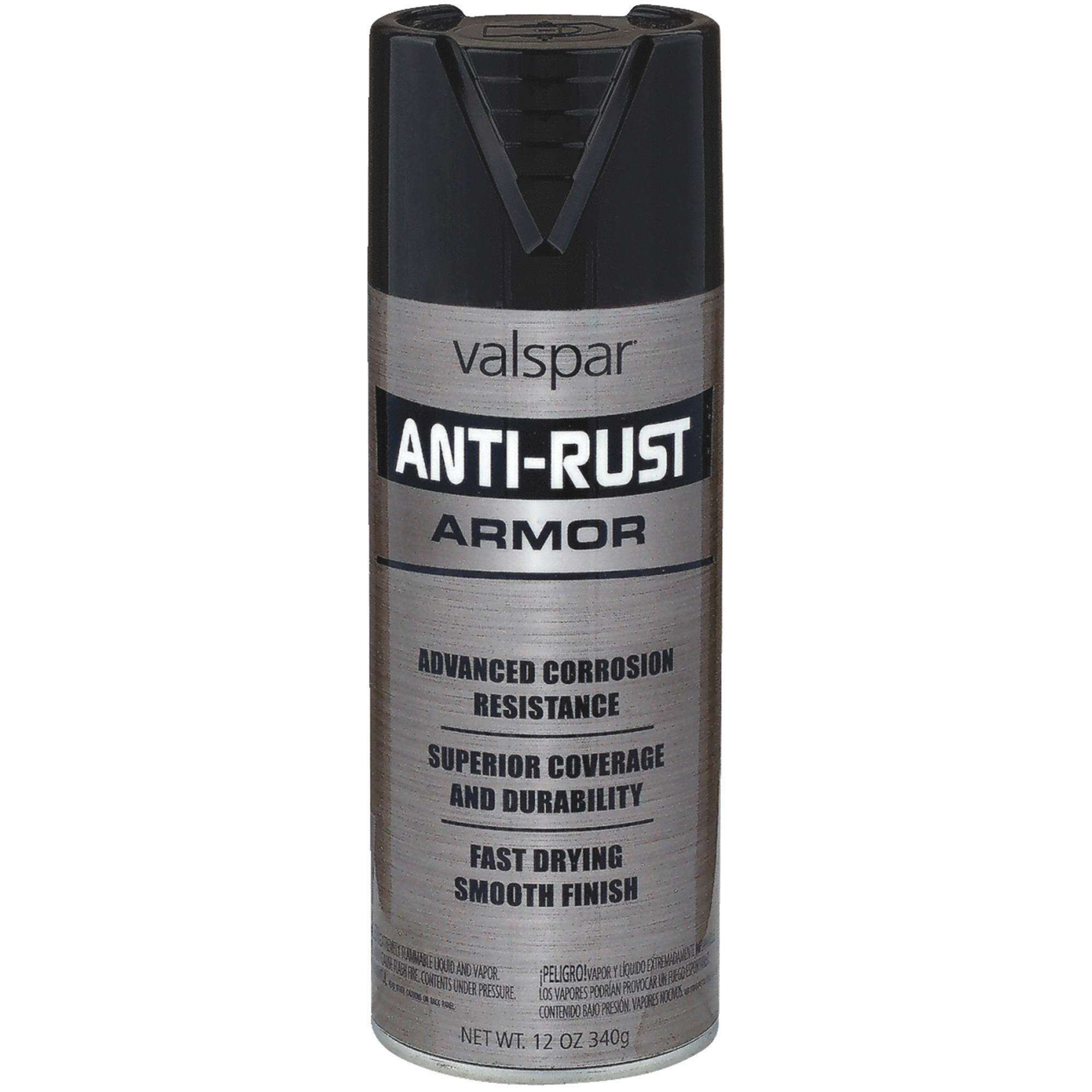 Valspar Armor Anti Rust Spray Paint Enamel   Walmart.com