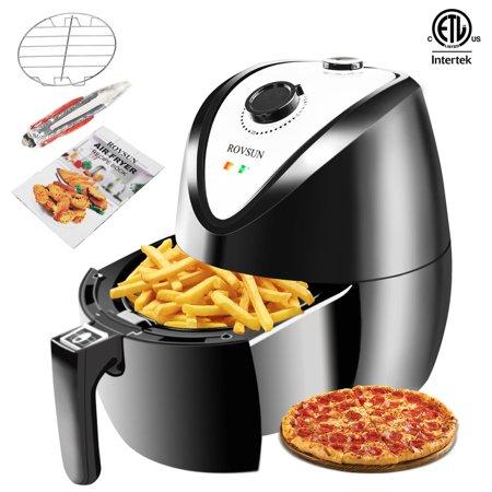 Ktaxon 1500W Electric Air Fryer Multifunction Timer & Temperature Control (Best Oil Less Fryers)