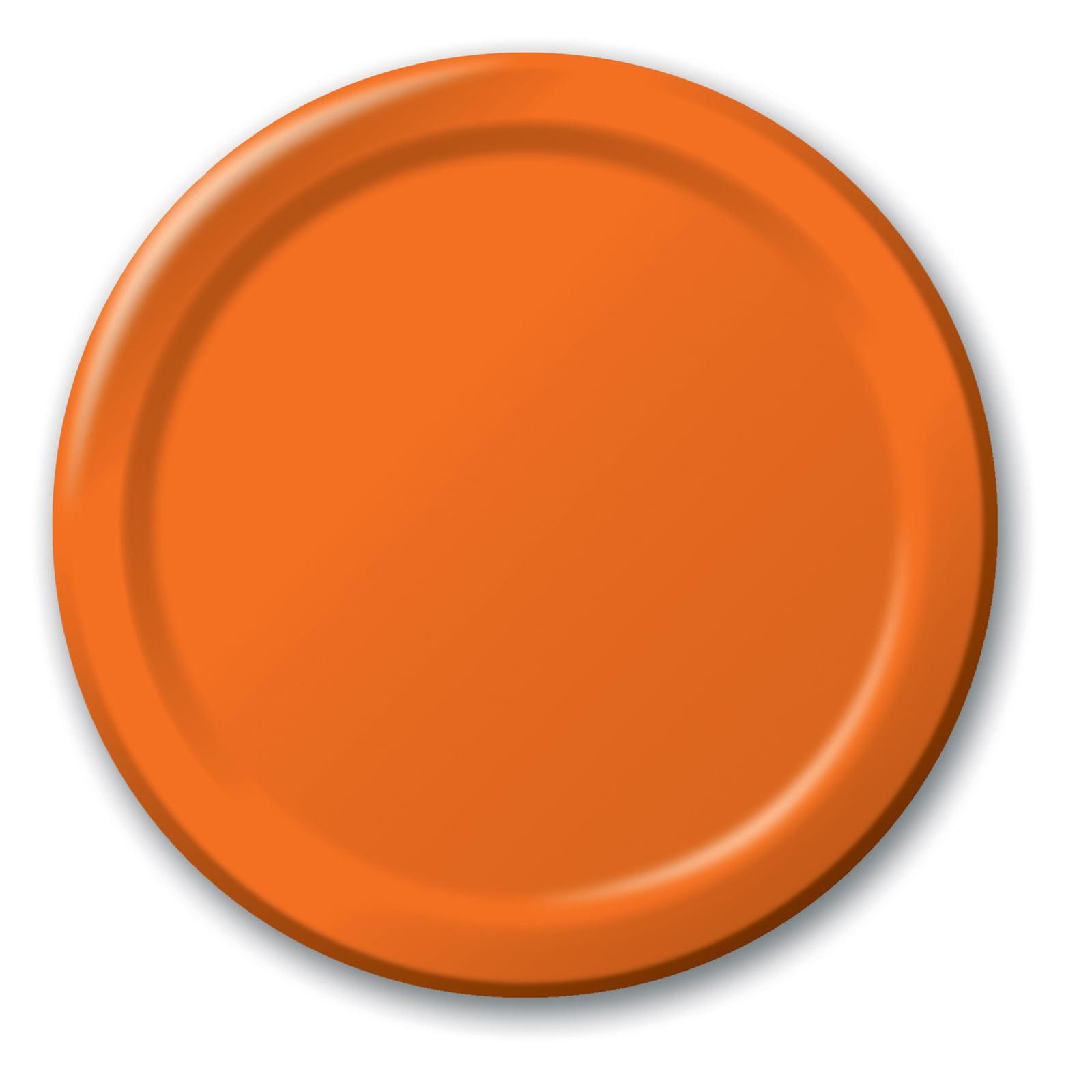sc 1 st  Walmart.com & Dinner Plate - Orange (24 Count) - Walmart.com