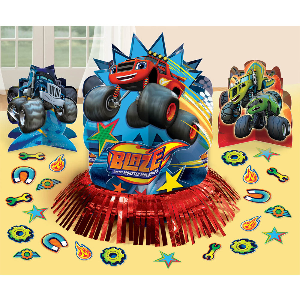 Blaze and the Monster Machines Table Decorating Kit - Party Supplies