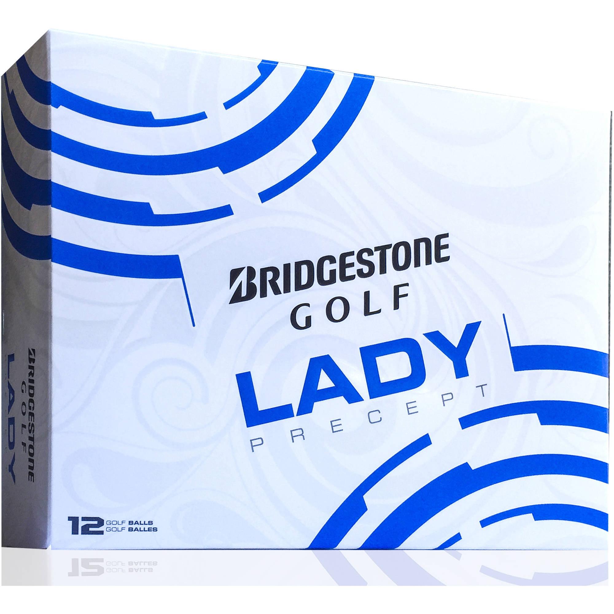Bridgestone Golf 2015 Lady Precept, Dozen, White by Bridgestone