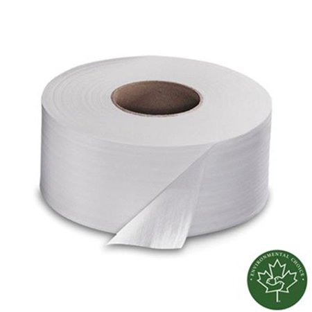 Sca TJ0921A Soft 2 Ply Toilet Tissue 1000 Ft Roll 12 Rolls CT