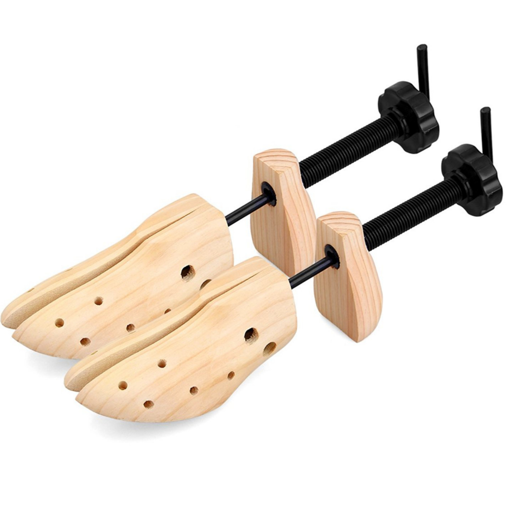 Professional Wooden Shoes Stretcher Shoe Tree For Women & Men- 1 UNIT