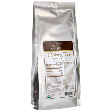 Swanson Certified Organic Loose Leaf Tea Oolong 3,5 oz (100 g) Emb