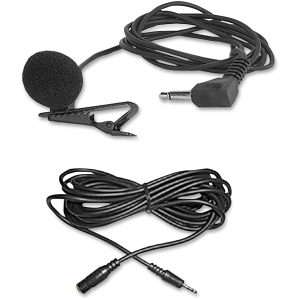 LAPEL MICROPHONE 40FT CORD 12FT EXTENSION