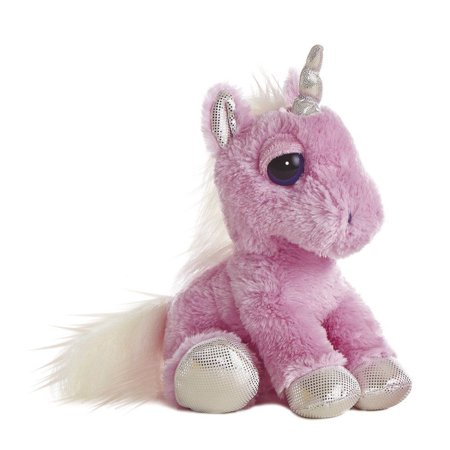 "Aurora World Pink Dream Eye Unicorn Plush -10"""