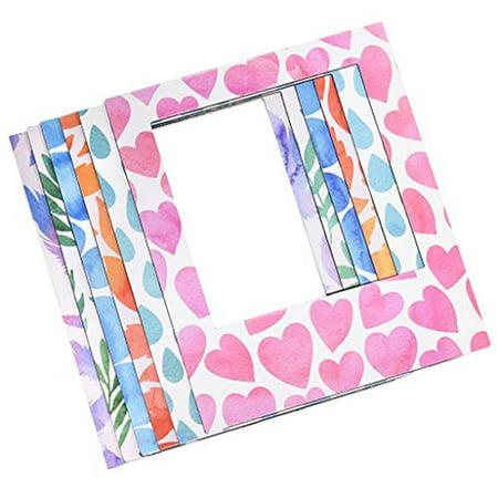 Polaroid 6 Designer Magnetic Picture Frames For 3x4 Photo Paper (Designer Picture Frame)