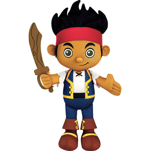 Fisher-Price Jake and the Never Land Pirates Jake Talking Plush Toy