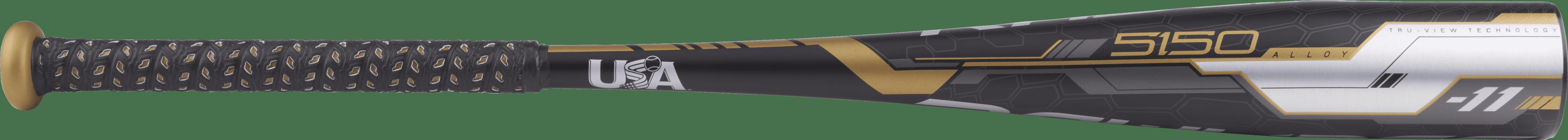 Rawlings 5150 Alloy USA Baseball Bat, 2-5 8-Inch Big Barrel, 29-Inch Length, -11 Drop Weight, 18 Ounces by Rawlings