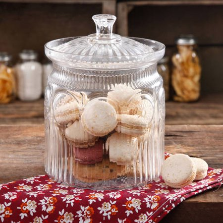 The Pioneer Woman Adeline Glass Cookie Jar, Clear