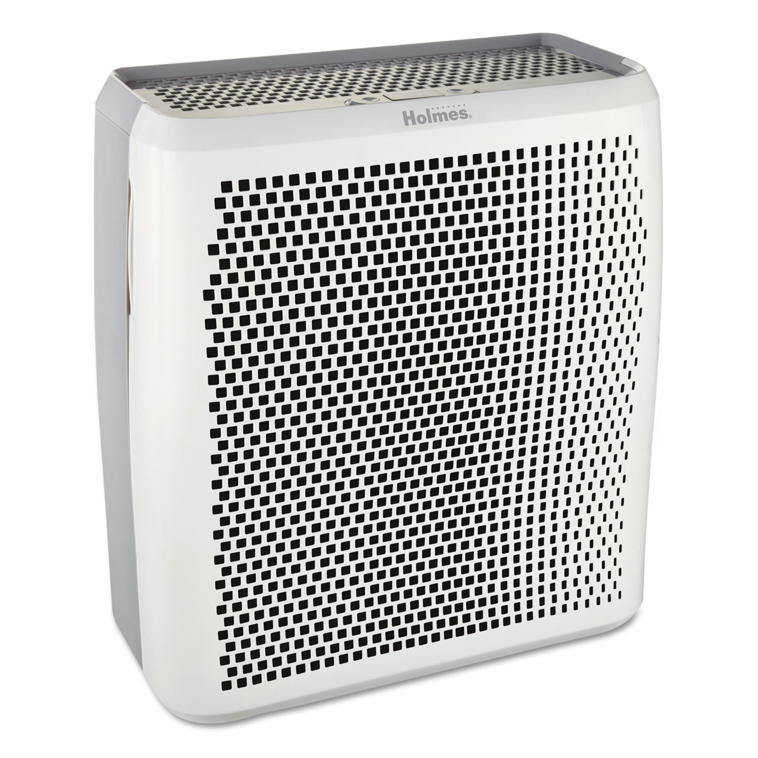 Holmes True HEPA Large Room Air Purifier, 430 sq ft Room Capacity, White - True HEPA large room air purifier.