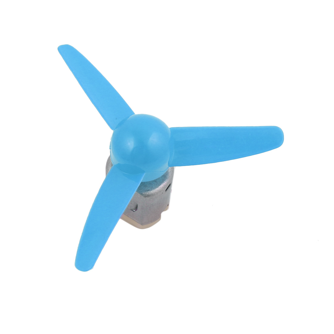 F130S DC 12V 20000RPM Mini Electric Motor w Blue Propeller for RC Model - image 1 de 5