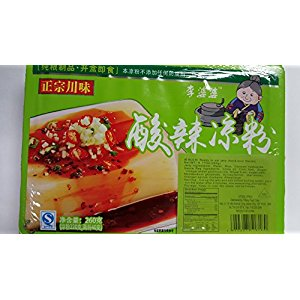 Free One NineChef Spoon + Sichuan Ready to eat Jelly (Hot and Sour Flavor) (10 Bag)
