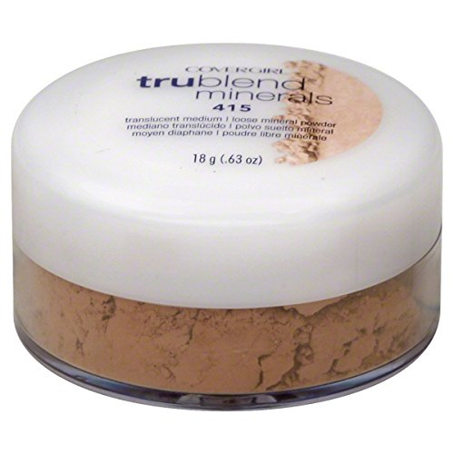 CoverGirl TruBlend Loose Powder, Naturally Luminous, Translucent Medium 415, .63 oz.
