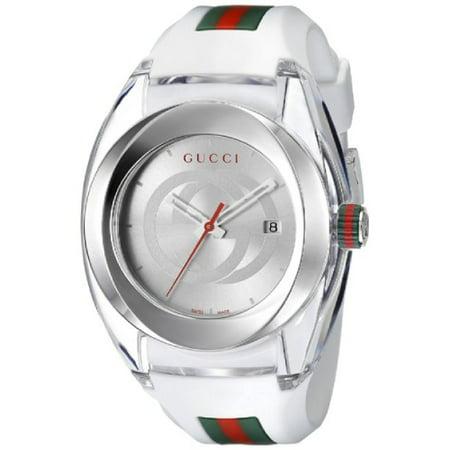 Gucci Sync XXL White Rubber Unisex Watch YA137102