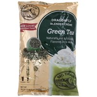 Big Train Dragonfly Blended Creme 3.5 lb Bag - Green Tea (Individual)