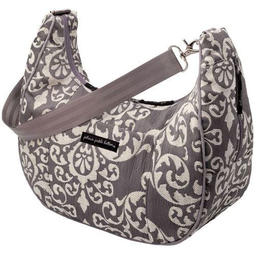 Petunia Pickle Bottom Chenille Touring Tote - Earl Grey