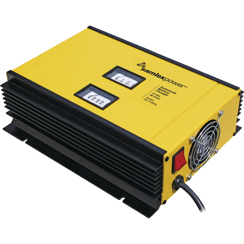 SamlexPower SEC-1280UL Sec UL Series 80A Battery Charger
