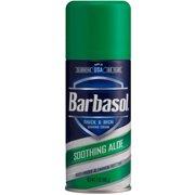 2 Pack - Barbasol Thick & Rich Shaving Cream, Soothing Aloe 7 oz