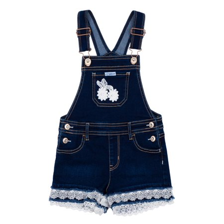 - Denim Shortalls (Toddler Girls)