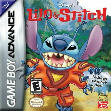 Disney's Lilo & Stitch - Nintendo Gameboy Advance GBA (Refurbished) (Lilo And Stitch Halloween Games)