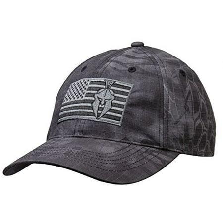 Kryptek Typhon Camo Tonal American Flag Cap - Walmart.com 25d8a15acfc