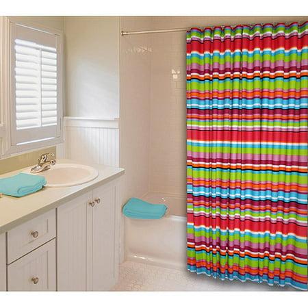 Catalina Stripe Shower Curtain