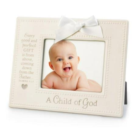 Lighthouse Christian Products 079998 Photo Frame-Child of God White - No. 17457 - image 1 of 1