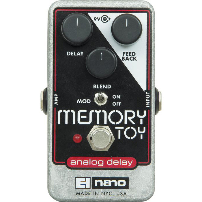 Electro Harmonix Memory Toy Analog Delay with Modulation Effects Pedal