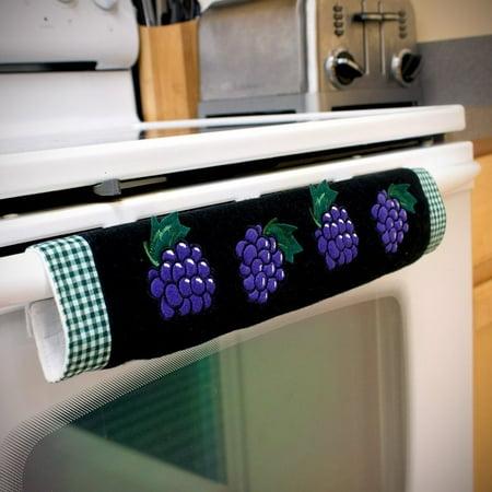 Oven Door Handle Cover With Grape Design Walmart Com