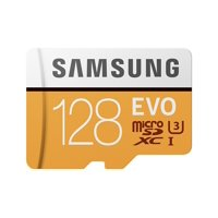 Deals on SAMSUNG 128GB EVO Class 10 Micro SDXC Card with Adapter