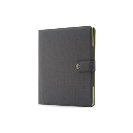 Booq Booqpad for iPad 2/3/4 - Gray/Green (BPD3-GRG) - image 1 of 2