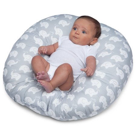 Boppy Newborn Pillow Elephant Love Gray Walmart Com