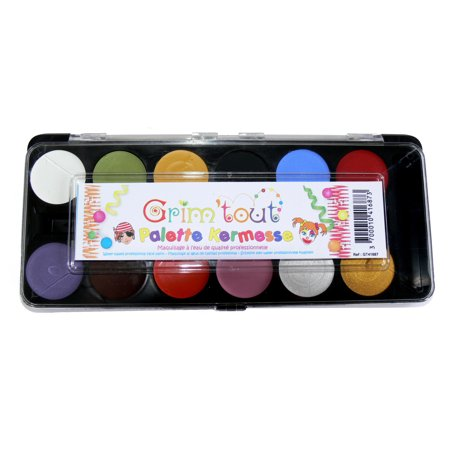 Grim 'tout - 12 Primary Color Face Paints](Cheap Face Paint)
