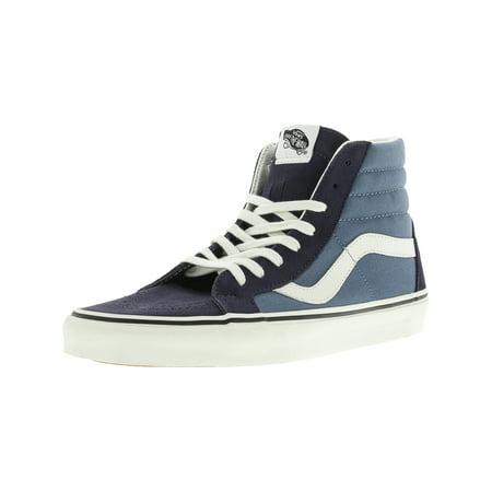 Vans - Vans Men s Sk8-Hi Reissue 2 Tone Parisian Night   Blue High-Top  Canvas Skateboarding Shoe - 10M - Walmart.com 201304cf4